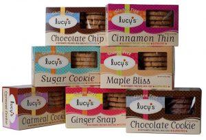 Coklat Lucy's Gluten Free Cookies