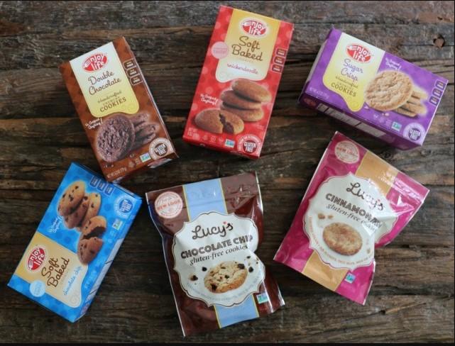 Varian Rasa Lucy's Gluten Free Cookies yang Mantap