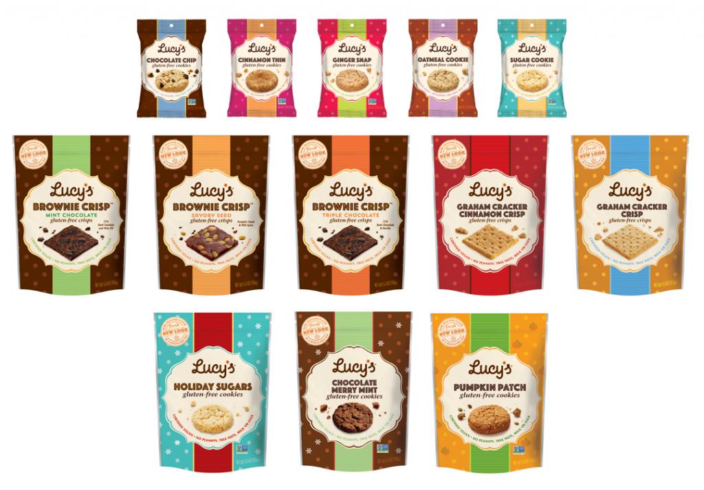 Coklat Lucy Gluten Free Cookies